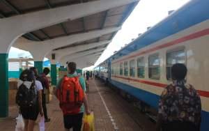 New Kapiri Mposhi Station track