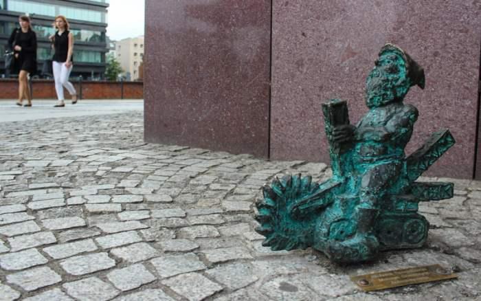 Wroclaw dwarf in Poland