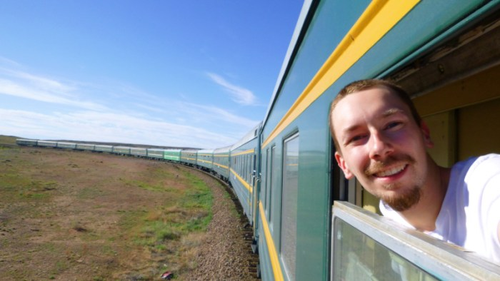 Traveling to Asia on the Transmongolian Railway