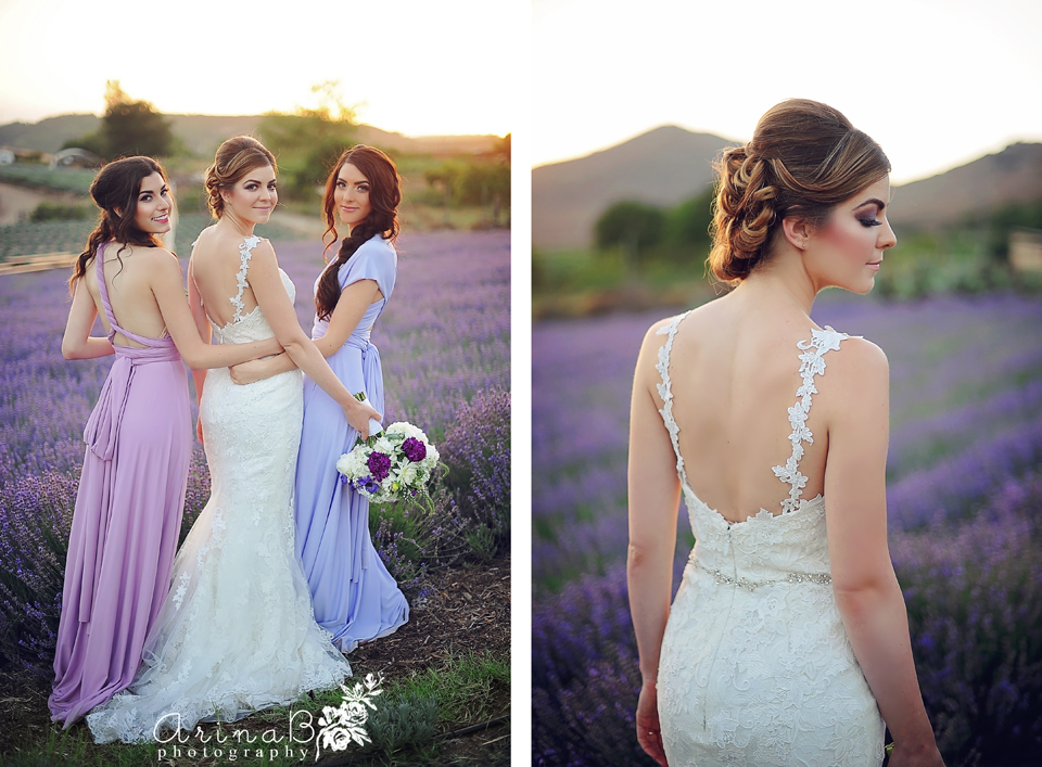 Provance Wedding Keys Creek Lavender Farm Arina B