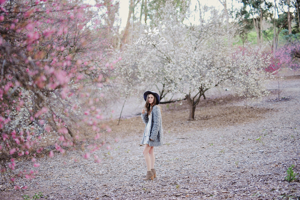 My Blooming heart portrait session  Arina B Photography