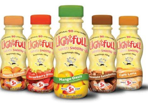 LightFull Smoothies packaging design