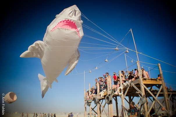 Big Shark, Burning Man