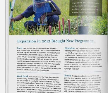 Halo Trust nonprofit annual report