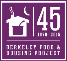 Identity design, logo design for Berkeley Food and Housing