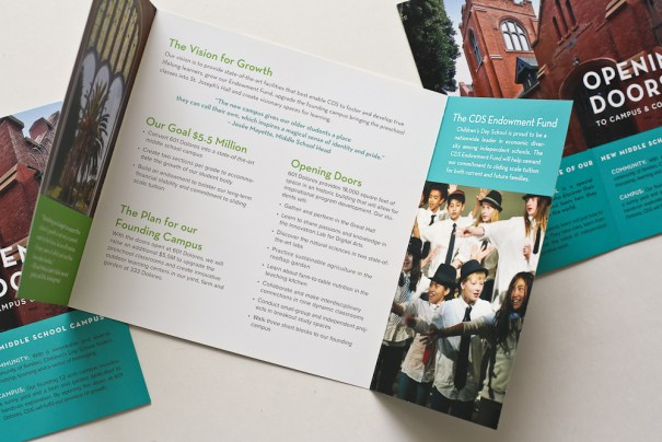 brochure design for capital campaign