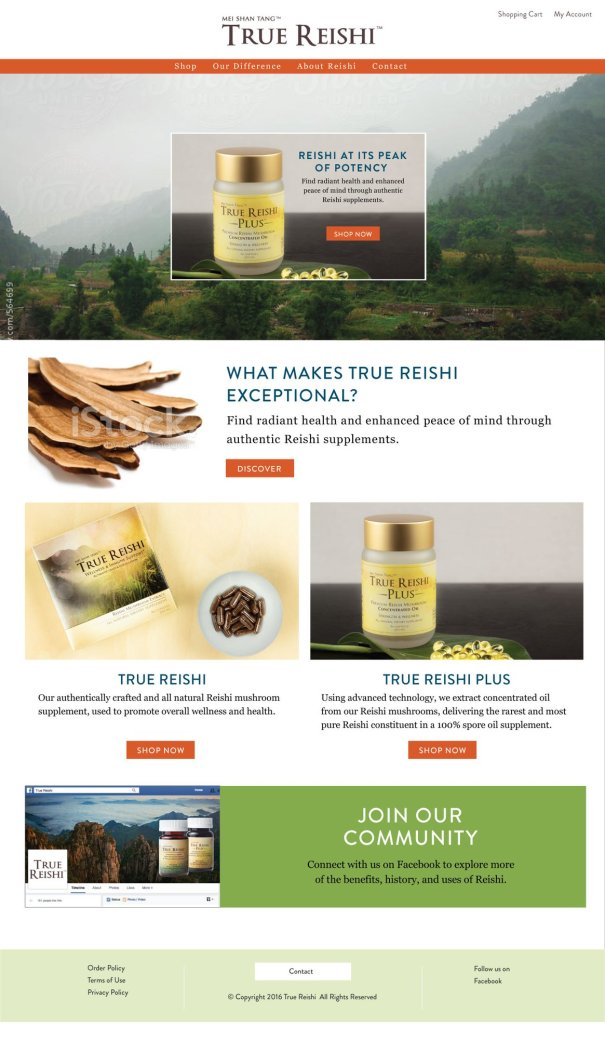 Home Page true reishi