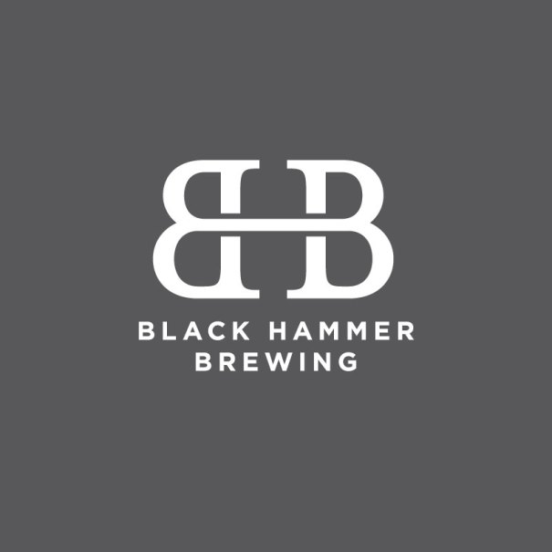 logo design for Black Hammer Brewing, San Francisco based beer brewer