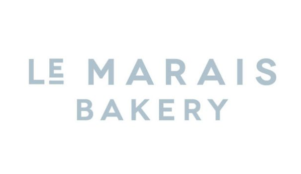 branding and logo for San Francisco restaurant and bakery Le Marais