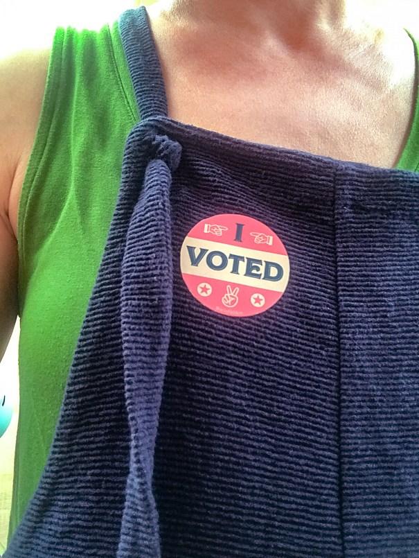 sticker design, I voted