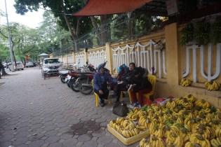Penjaja Pisang di Hanoi