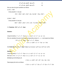 NCERT Solutions for Class 9 Maths Chapter 2 Exercise 2.5 - Polynomials [ 2200 x 1700 Pixel ]