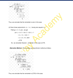 NCERT Solutions for Class 9 Maths Chapter 2 Exercise 2.3 - Polynomials [ 2200 x 1700 Pixel ]