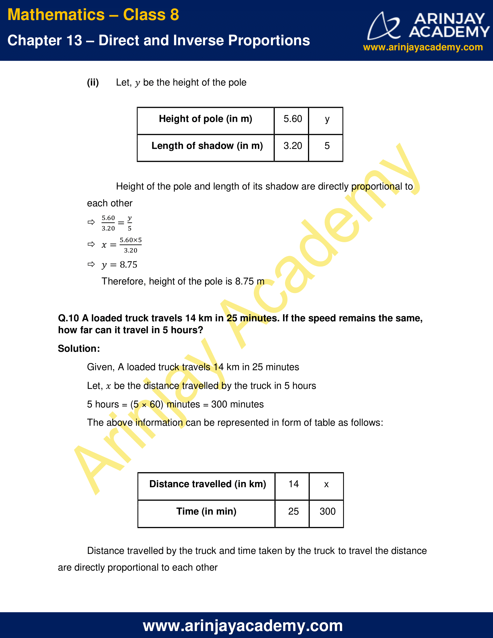 Ncert Solutions For Class 8 Maths Chapter 13 Exercise 13 1