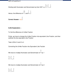 Fraction Worksheet Class 4   Printable Worksheets and Activities for  Teachers [ 2200 x 1700 Pixel ]