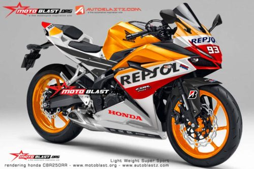 all new CBR250RR Repsol