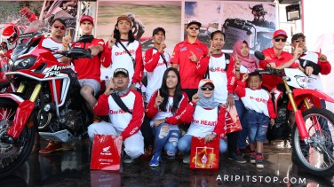 Meet and great konsumen honda tim hrc mxgp 3