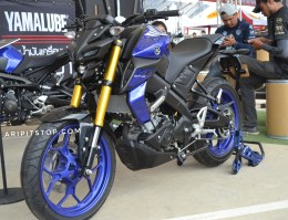 All new mt-15 warna biru 30