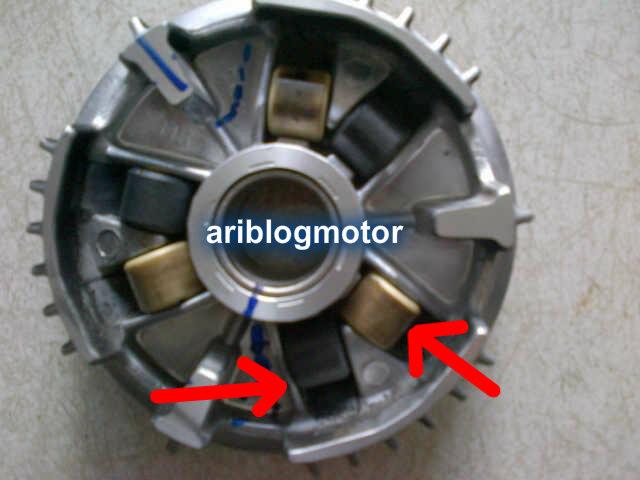 MOTOR CVT MATIC Kombinasi roller Mio karbu 10gr  8gr