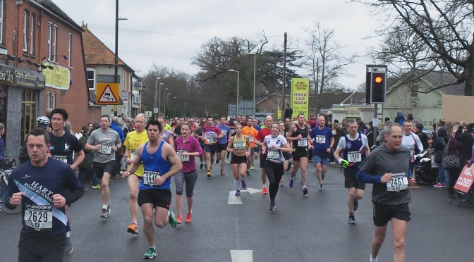 Congratulations to runners in the Fleet Half Marathon