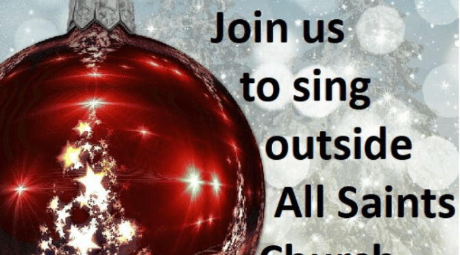 Community Carols at All Saints Church – 16 December