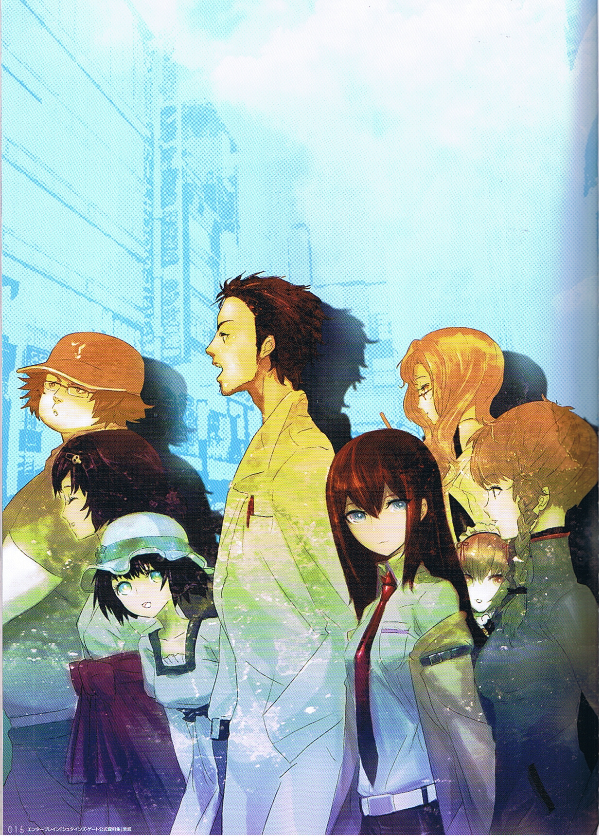 Wallpapers Anime Girl Cute Artbook Steins Gate