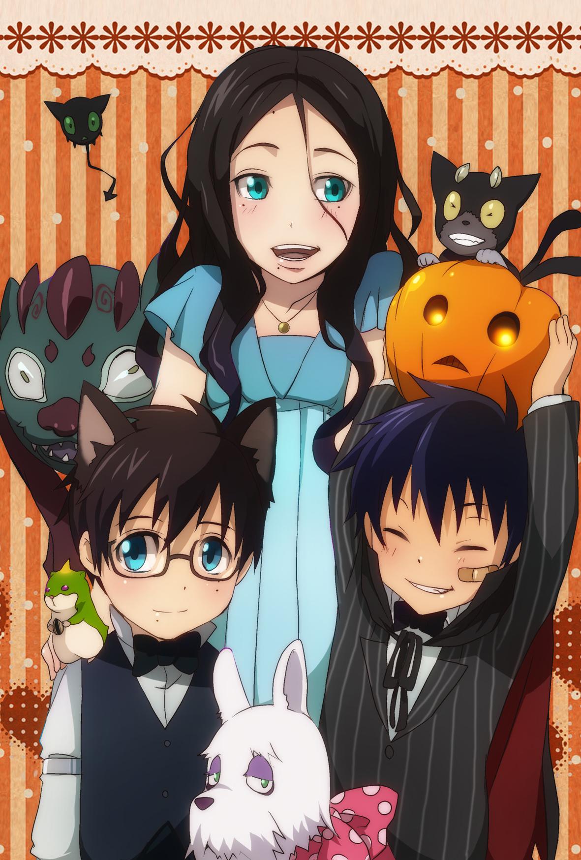 Halloween White Haired Anime Girl Wallpaper Halloween Image Pack