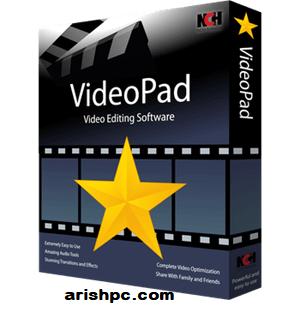 VideoPad Video Editor 10.87 Crack + Registration Code 2022