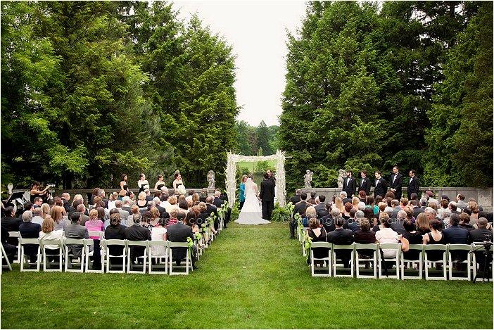 Michigan Wedding Photographers For Cranbrook House