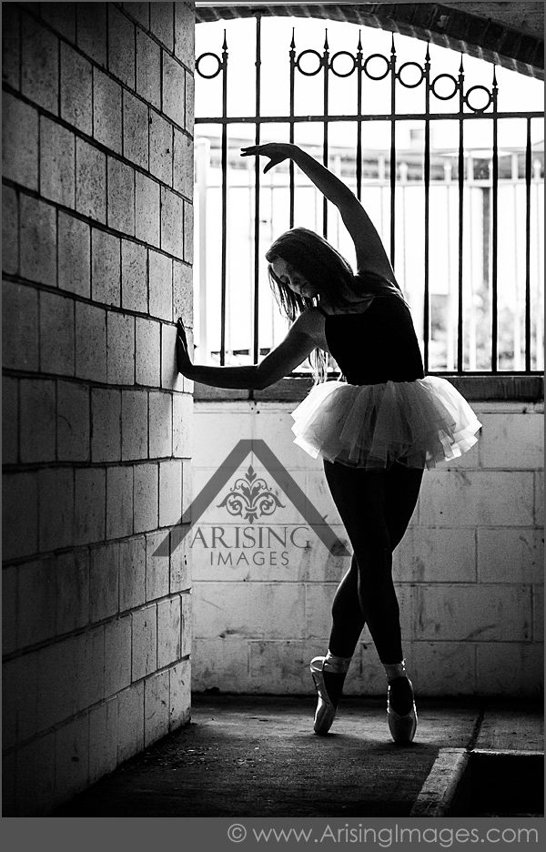Urban Ballerina Senior Pictures in Michigan  Arising Images