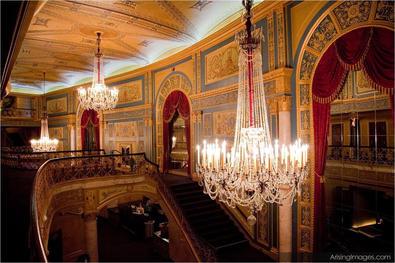 Detroit Opera House Floor Plan
