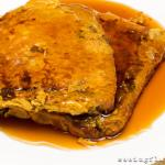 Skinnified Pumpkin Pie French Toast