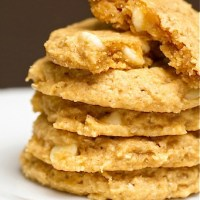 Hawaiian Macadamia Butter Cookies
