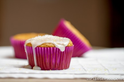 Lemon Coconut Cupcakes #vegan