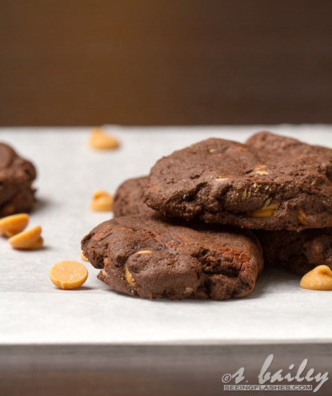 Peanut Butter Chip Brownie Cookies