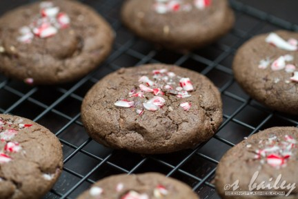 Peppermint Bark Cookies