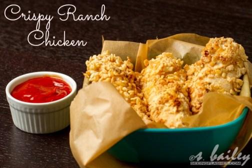Crispy Ranch Chicken #glutenfree