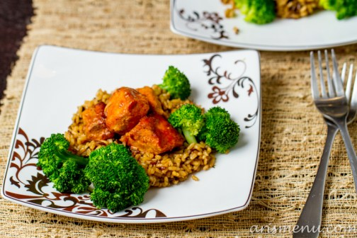 Healthy Crockpot Orange Chicken #glutenfree