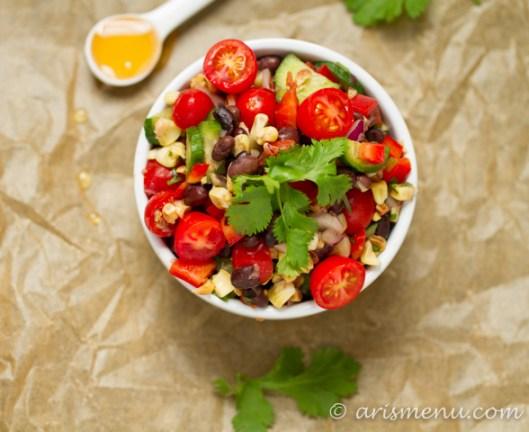 sted Corn Black Bean Salad #vegan #glutenfree
