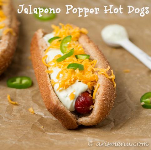 Jalapeno Popper Hot Dogs