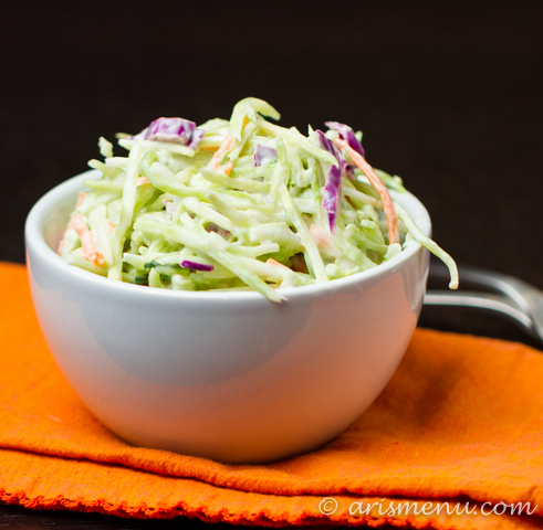 Creamy Greek Yogurt Slaw