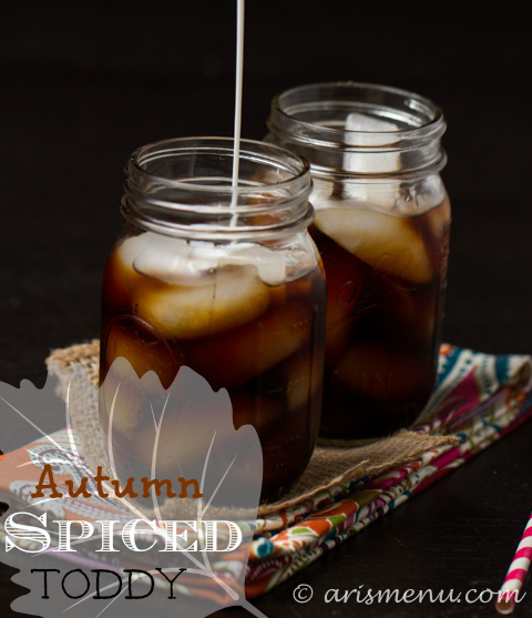 Autumn Spiced Toddy (Cold-brewed Iced Coffee)