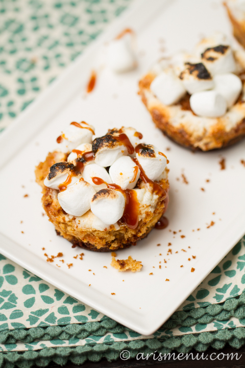Loaded Sweet Potato Cheesecake Cups