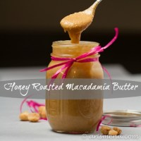 Honey Roasted Macadamia Butter