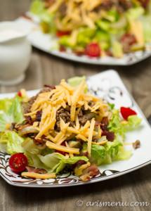 Bacon Cheeseburger Salad
