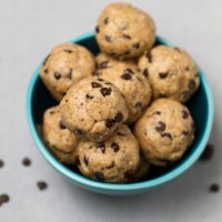 Peanut Butter Chocolate Chip Cookie Dough Bites