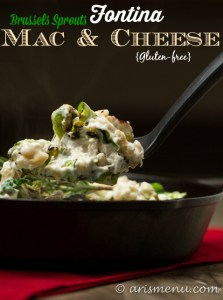 Brussels Sprouts Fontina Mac & Cheese