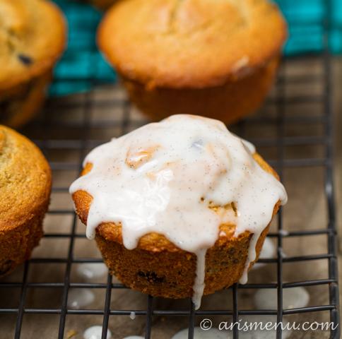 Lemon Blueberry Buttermilk Muffins.: A perfect summer breakfast. Light, healthy & gluten-free.