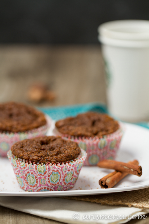 Pumpkin Spice Latte Cupcakes: Vegan, gluten-free and lightened up but with ALL of the flavor!