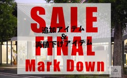 18S/S SALE ☆ FINAL MARK DOWN!! 急げ〜〜!!!!